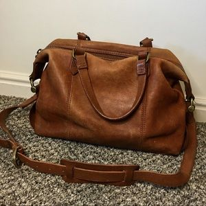 Madewell | Leather Satchel Handbag